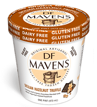 Stop eating gross, chalky dairy alternatives for ice cream! We've found the 5 best brands on the market for dairy-free ice cream!