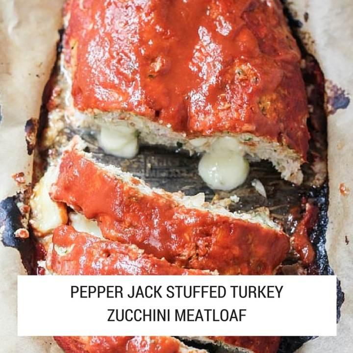 healthy pepper jack stuffed turkey meatloaf recipe