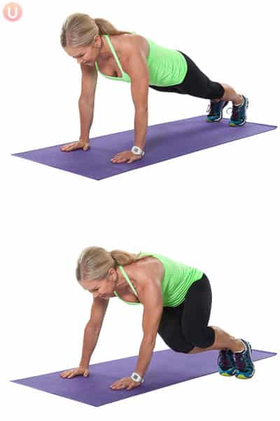 Try this engaging core exercise that is also a plyometric.