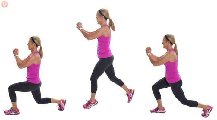 Perform split jumps to get a better workout.