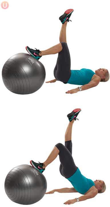 Use this move to work the inner and outer thighs.