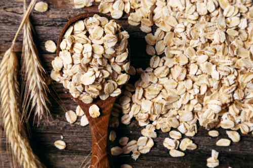 Try eating oats to lower your cholesterol naturally.