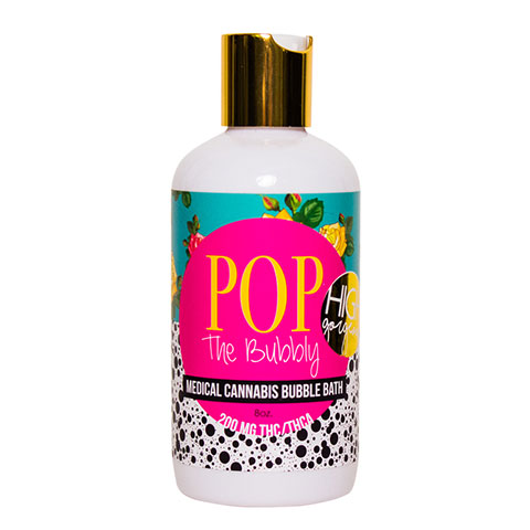 Bubble Bath - Pop The Bubbly 200mg THC/THCa High Gorgeous