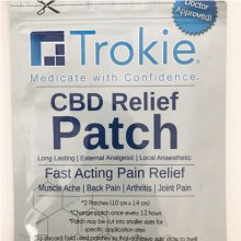 CBD Relief Patch - Trokie
