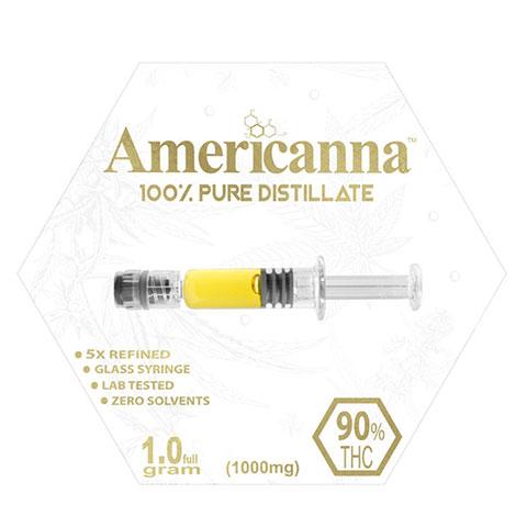 Distillate - Americanna Cotton Candy One Gram