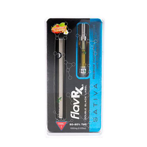 Cartridge - FlavRX Double Black Strawberry Cough