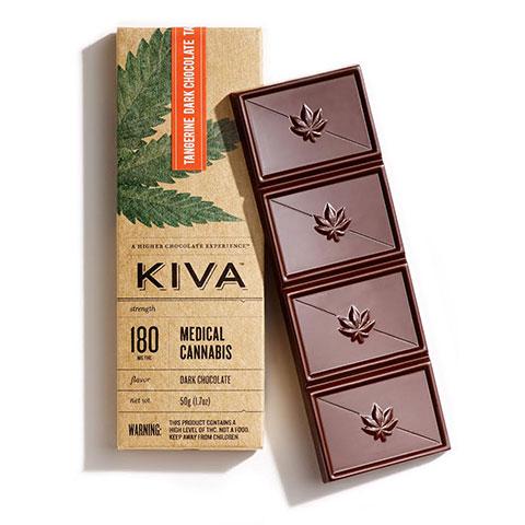 Chocolate - Tangerine Dark Chocolate Kiva