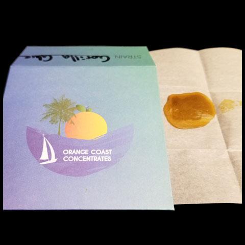 Shatter - Orange Coast Extracts Gorilla Glue Half Gram