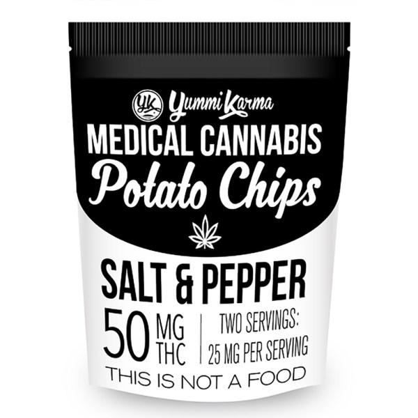 Chips - Salt & Pepper 50mg Yummi Karma
