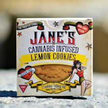 Cookie - Jane's Lemon 120mg
