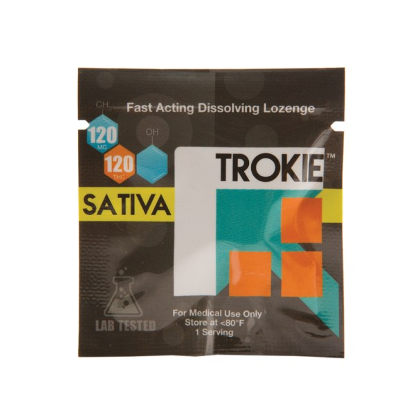Throat Lozenge - Trokie 120mg THC Sativa