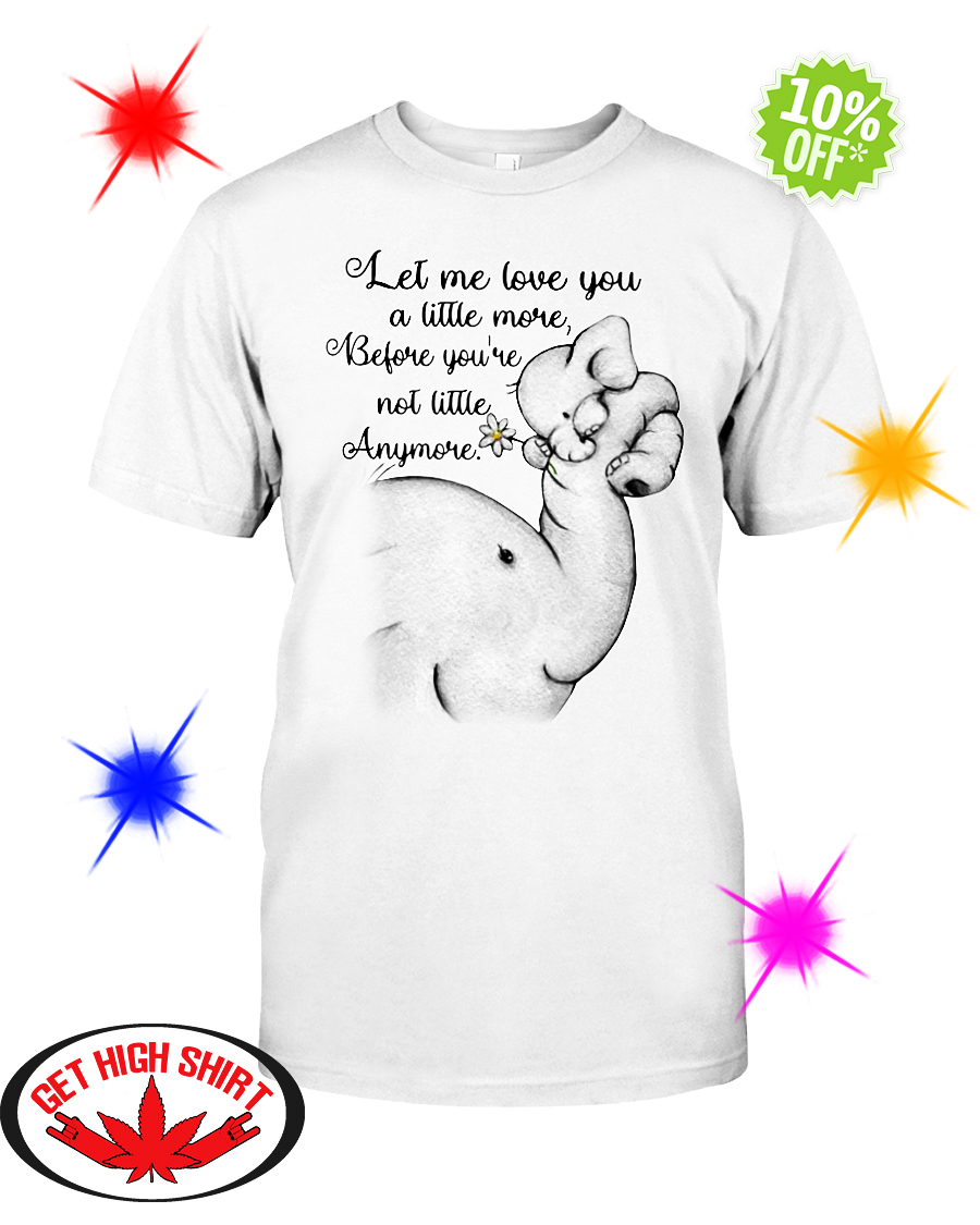 Download (PERFECT GIFT) Elephant let me love you a little more ...