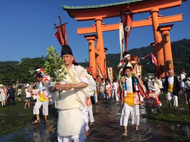 Miyajima kangensai opening