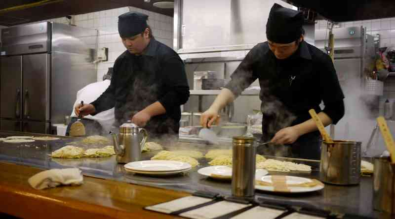 micchan sohonten okonomiyaki in hiroshima japan