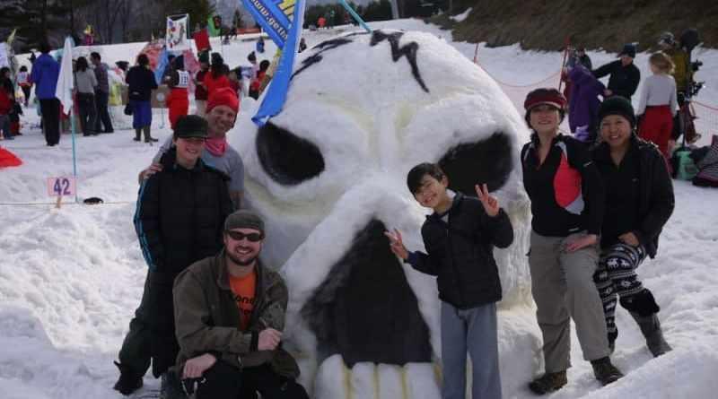 team gethiroshima at the world igloo building championships