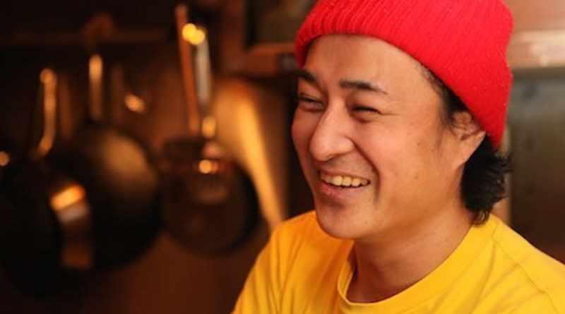 BOM, owner of rock bar Koba in Hiroshima, Japan