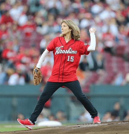 Carloline Kennedy's pitch in Hiroshima