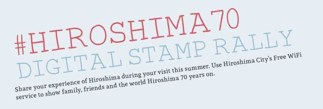 #Hiroshiam70 Digital Stamp Rally