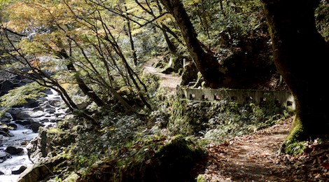 hiking sandankyo gorge