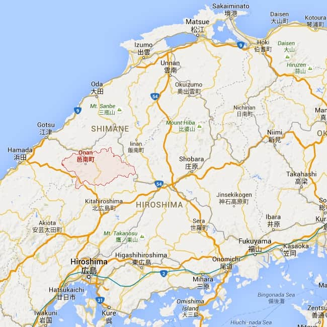 onan region map
