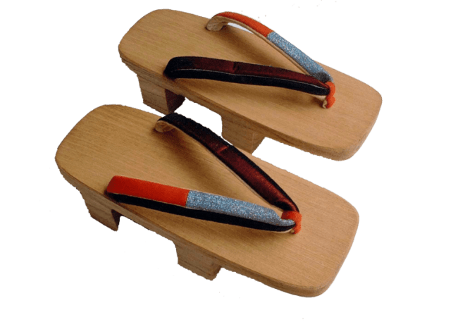 geta wooden japanese sandals