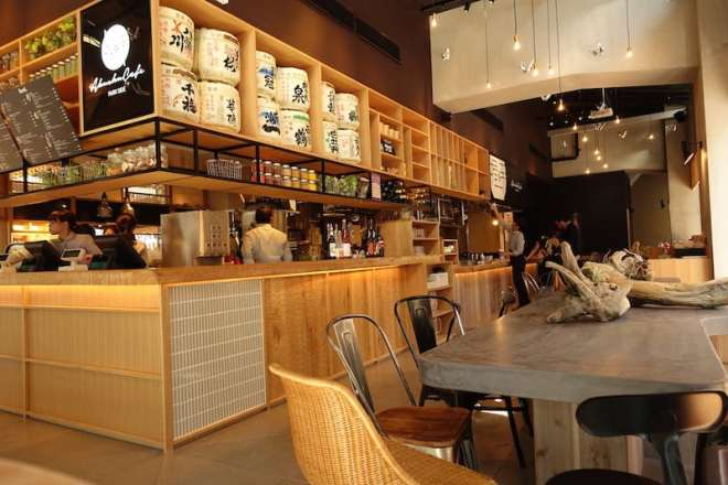 orizuru tower - akushu cafe