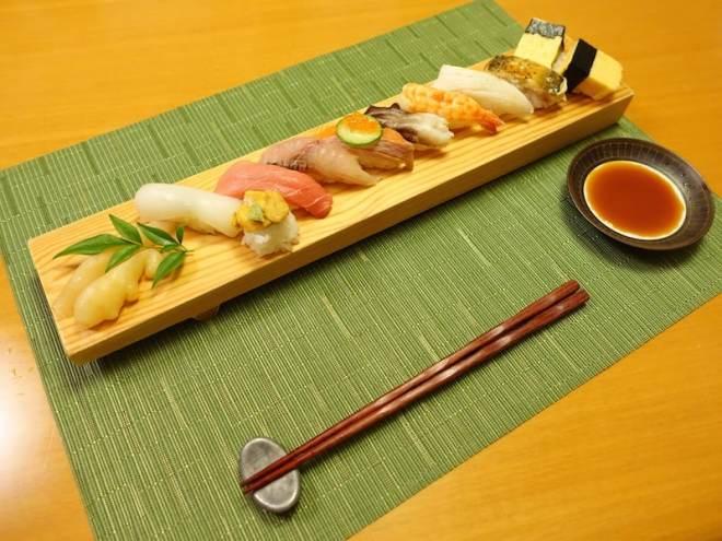 sheraton hiroshima miyabi-tei sushi course