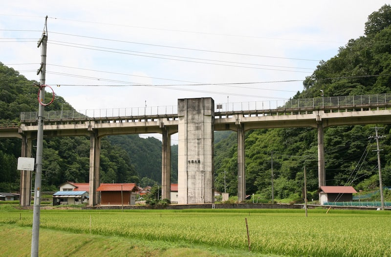 Uzui Station on the Sanko Line in Shimane Prefecture