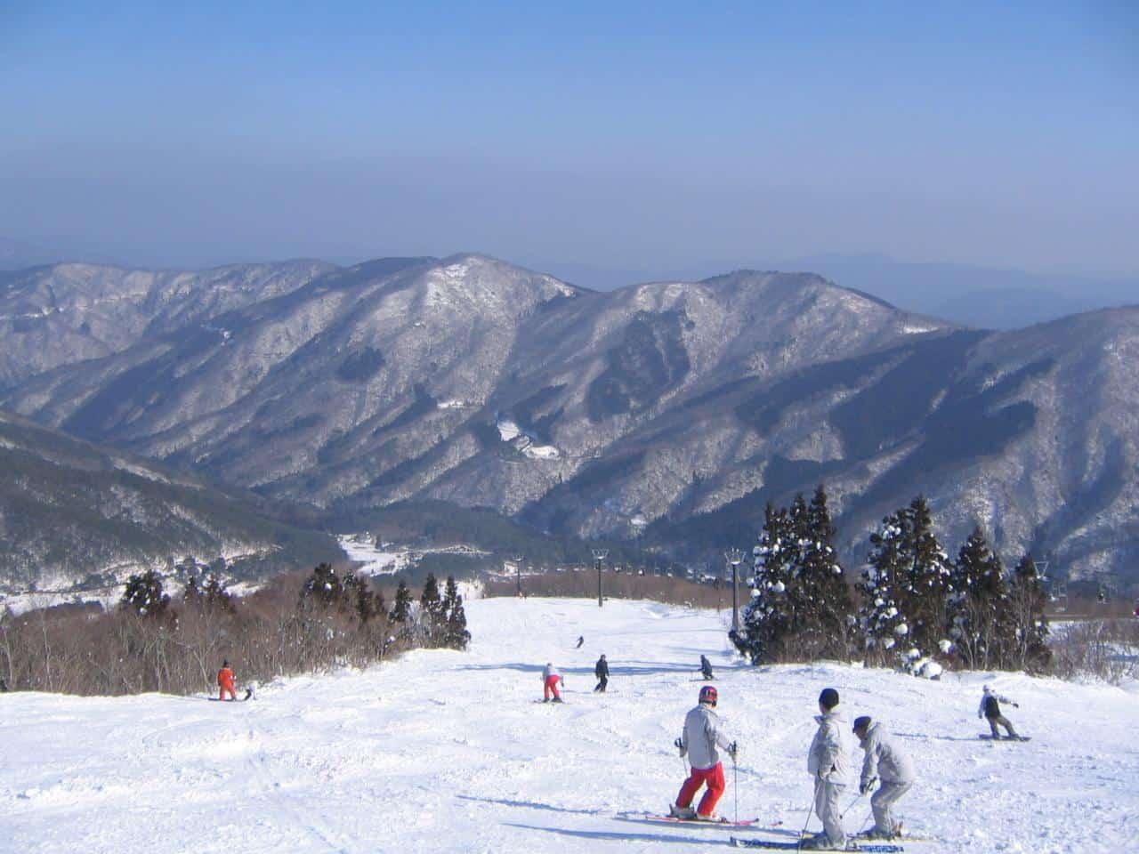 Osorakan Snow Park in Hiroshima Prefecture
