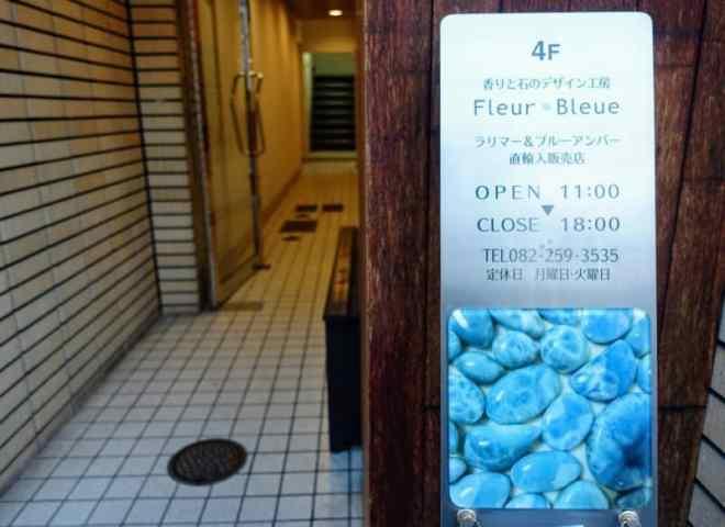 Fleur Bleue ground floor entrance