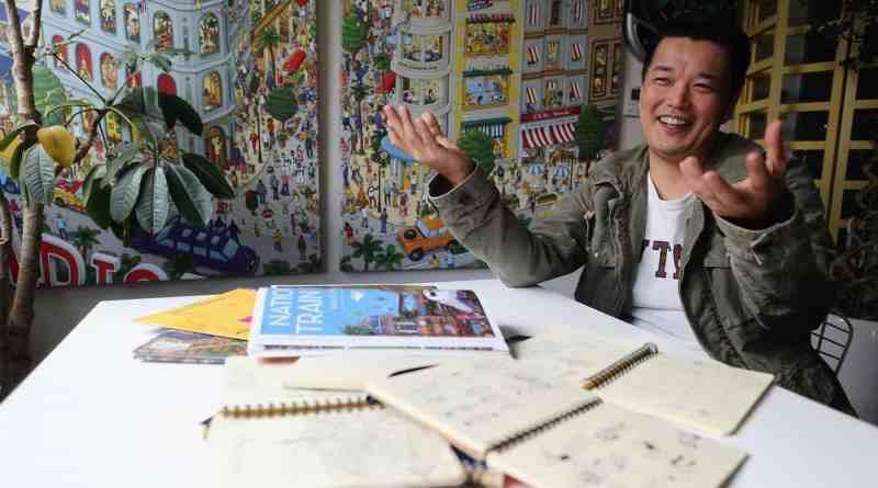 Hiro Kamigaki IC4 author of pierre the maza detective