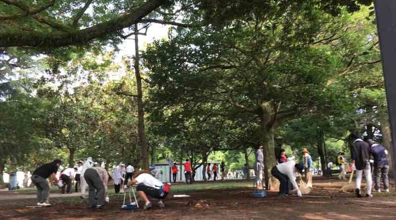 Hiroshima Peace Memorial Park Clean Up