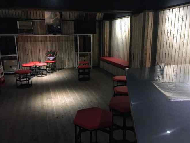 MAC Bar interior