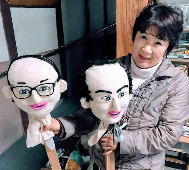 """""""Head""""mistress of Kakashi-no-sato Ms Morimoto"""