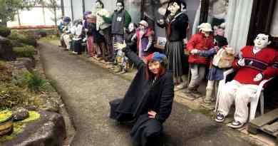 Yuki's kakashi scarecrow village