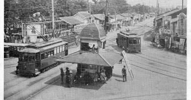Kamiya-cho intersection Hiroshima 1927