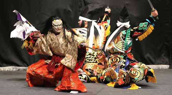 Takiyasha-hime performed by the Yoshida Kagura Troupe