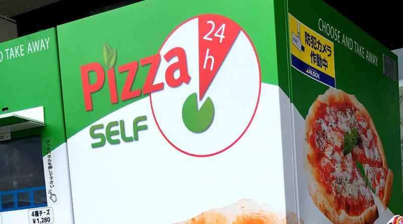 24h Pizza Vending Machine