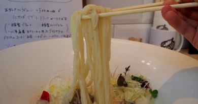 taiko udon noodle shop in hiroshima with vegetarian options