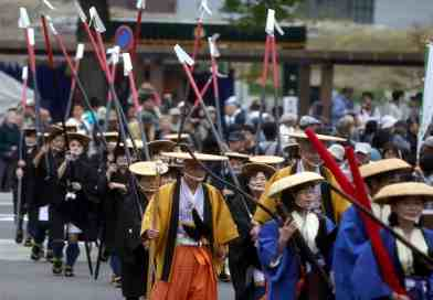 Samurai Parade to commemorate 400th anniversary of the arrival of the Asano Clan