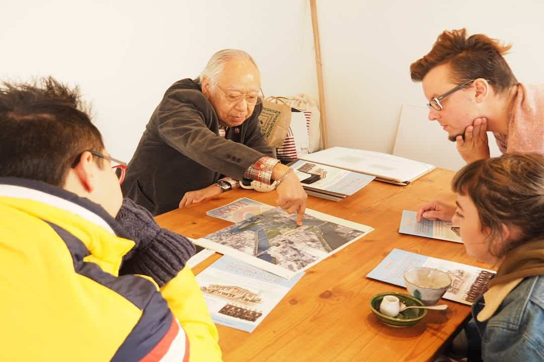 Talk with Hiroshima A-bomb survivors in English