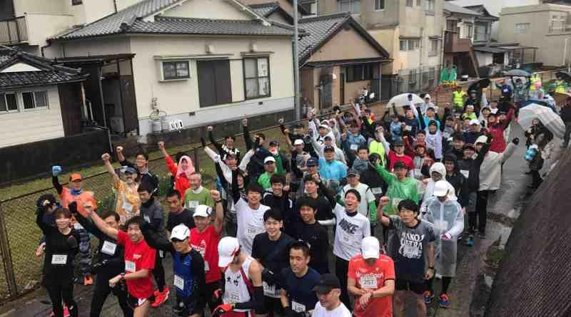 Ninoshima eco marathon island road races in hiroshima