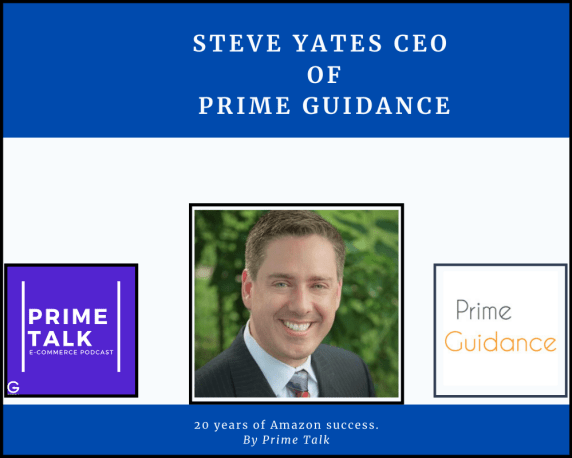Steve Yates image with logos of prime guidance, getida and primetalk