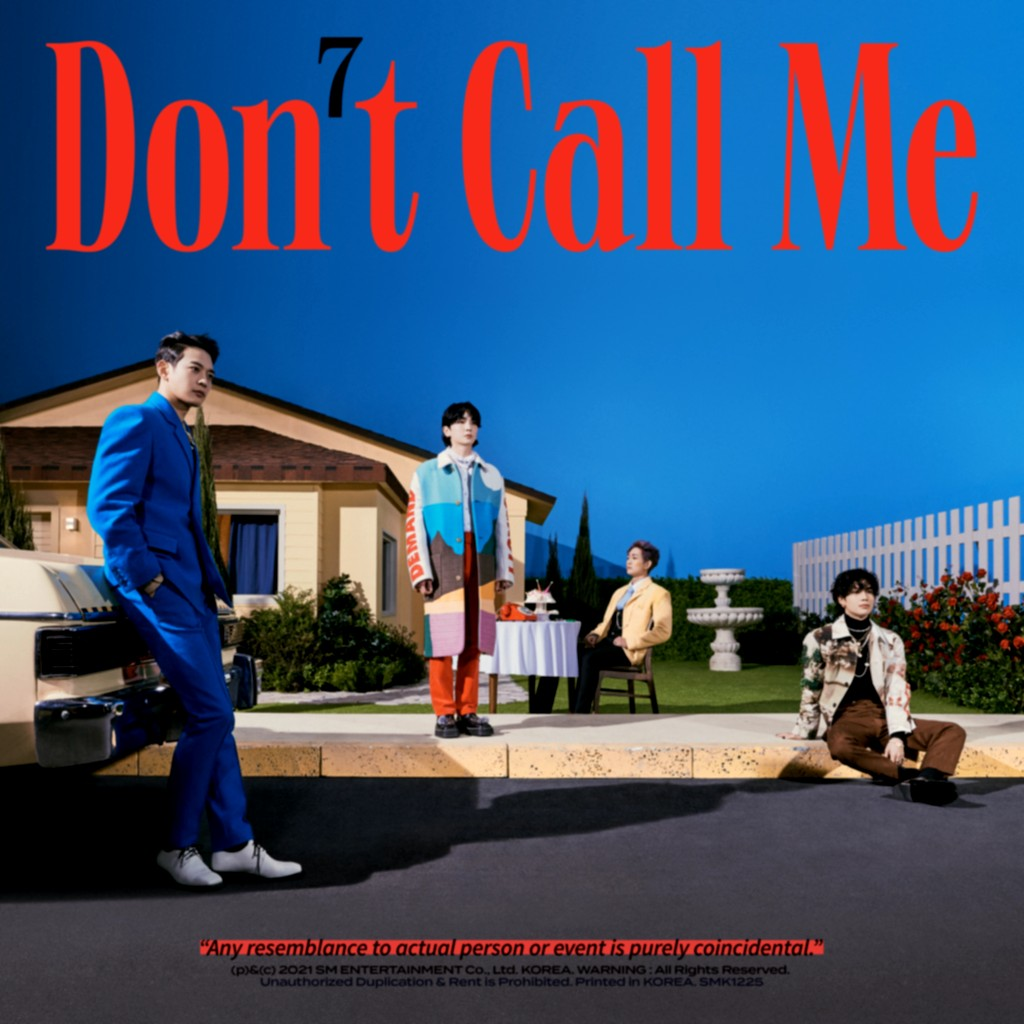 [Album] SHINee (샤이니) – Don't Call Me – The 7th Album [FLAC + MP3 320 / WEB] [2021.02.22]