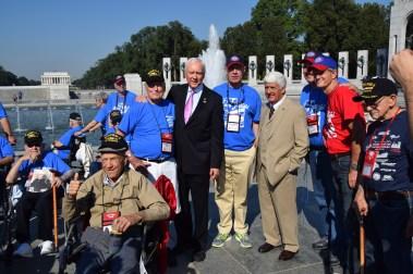 Photo with Senator Hatch