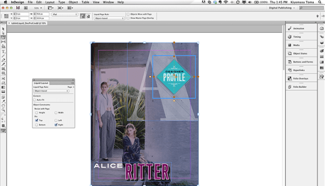 Adobe InDesign For MacOSX
