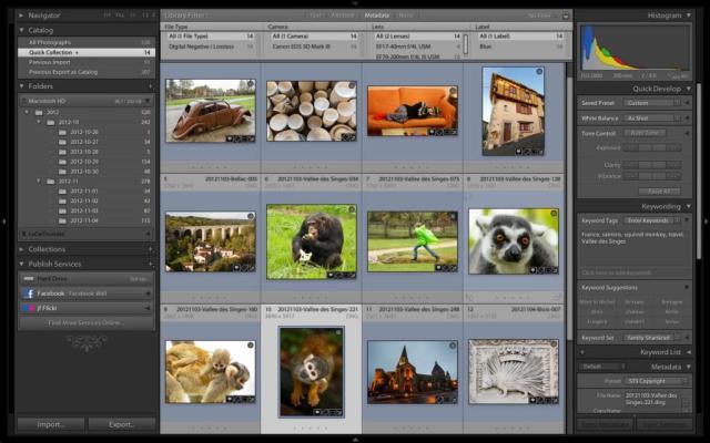 Adobe Photoshop Lightroom CC For MacOSX