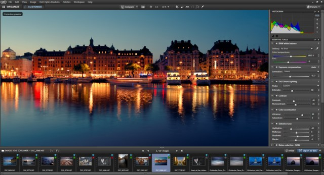 DxO Optics Pro For Mac OS X