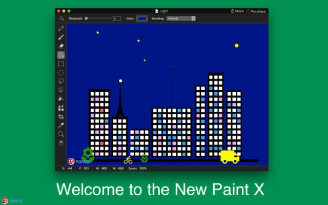 New Paint X For MacOSX
