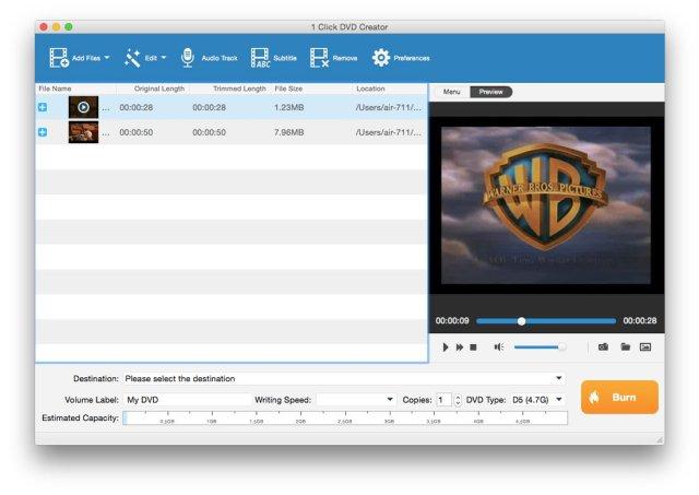 Tipard DVD Creator for mac full version